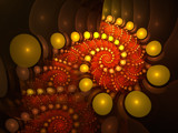 Sequinned Spiral by razorjack51, Abstract->Fractal gallery