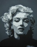 MARILYN by nuke88, illustrations->traditional gallery