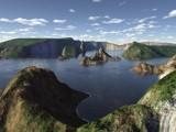 Cliffs by Foxfire66, Computer->Landscape gallery