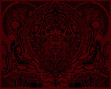 India-red by Pei, Rework gallery