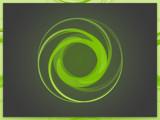 Green Swirls by speedy_10, computer gallery