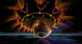 Fractal Sphere by nmsmith, abstract->fractal gallery
