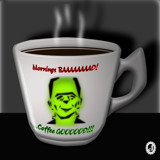 Mourning Coffee 5 by Jhihmoac, illustrations->digital gallery