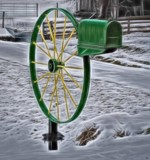 ''Twas a John Deere Stuck in the Snow... by nanadoo, photography->general gallery