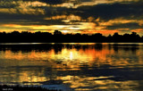 As The Sun Sets On Center Lake by tigger3, photography->sunset/rise gallery