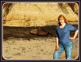 Sue at Ano Nuevo State Park by Flmngseabass, photography->people gallery