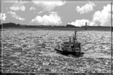 Plowing Through A Choppy Sea by corngrowth, photography->boats gallery