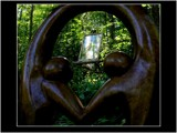 A Garden Picture, Twice Framed by snapshooter87, photography->sculpture gallery