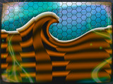 A Wave of Misfortune by Flmngseabass, abstract gallery