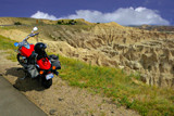 Badlands and Bike by Gergie, photography->landscape gallery