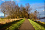 Cycle-track Around The Lake Of Veere by corngrowth, photography->landscape gallery