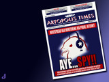 Artopolis Times - National Security by Jhihmoac, illustrations->digital gallery