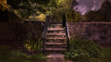 Stairway to Boone's Fort by casechaser, photography->manipulation gallery