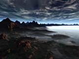 Misty Lake by ryzst, Computer->Landscape gallery