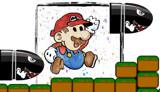 Super Mario Bros by bfrank, illustrations gallery