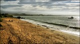 Lonely Beach On An Overcast Day by LynEve, photography->shorelines gallery