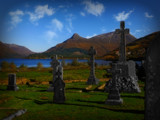 Ballachulish Graves by biffobear, photography->architecture gallery