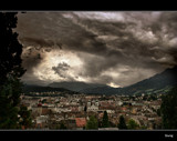 Dark Clouds Over Lucerne by Sivraj, photography->city gallery