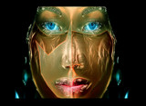 Queen of the Nile by casechaser, abstract->surrealism gallery
