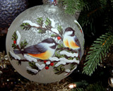 Chickadees by trixxie17, holidays->christmas gallery