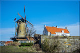 Windmill On Ancient Fortification by corngrowth, photography->mills gallery