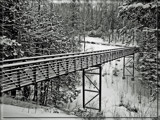 Winter in B/W - Hub Trail by icedancer, contests->b/w challenge gallery