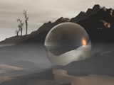 The Orb (prologue) by Samatar, computer->landscape gallery