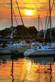 Sunset over the Marina by wbetz13, Photography->Sunset/Rise gallery