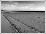 Tracks made of sand. by Mannie3, photography->shorelines gallery