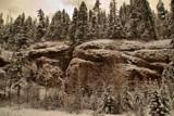 Snowy Cliffs by Wayne_Dwopp, Photography->Landscape gallery