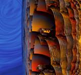 Blue Sky in the Morning by casechaser, abstract->fractal gallery