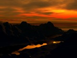 Sunset Silhouettes by kjh000, Computer->Landscape gallery
