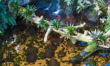 Bromeliads and Freshwater Stingrays by Pistos, photography->reptiles/amphibians gallery
