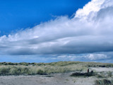 Cloud Heavy over the Sand by verenabloo, Photography->Skies gallery
