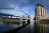 Millennium Bridge, Salford Quays by fogz, photography->bridges gallery