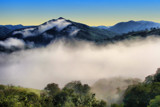 Fog in the Valley Below by quickshot, photography->mountains gallery