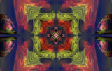 Color Coded Squeeze Play by Flmngseabass, abstract gallery