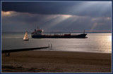 Approaching Thunderstorm 3 by corngrowth, Photography->Boats gallery