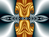 Silver And Gold by razorjack51, Abstract->Fractal gallery