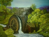 Water Wheel by aravindram21, abstract gallery