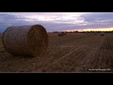 Autumn Hay Bales by ajmitchell, Photography->Sunset/Rise gallery
