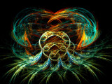 Electric Octopus by razorjack51, Abstract->Fractal gallery