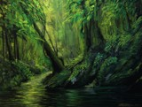 GREEN KINGDOM. by nuke88, illustrations->traditional gallery
