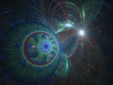 Cosmic Coaster by razorjack51, Abstract->Fractal gallery