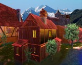 The Village by MrXwild, Computer->Landscape gallery