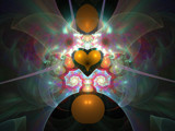 On Guilded Wings by razorjack51, Abstract->Fractal gallery