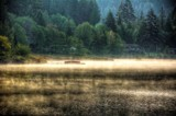 Morning Mist On The Lake by gr8fulted, photography->shorelines gallery