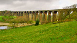 Hewenden Viaduct (widescreen) by jeenie11, Photography->Landscape gallery