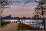 Silhouetted Skyline by corngrowth, photography->shorelines gallery