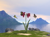 Friends of the Amaryllis by DixieNormus, Computer->Landscape gallery
